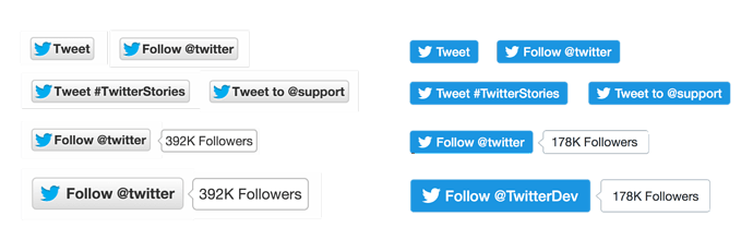 New Twitter Buttons Nov15