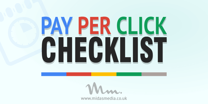 pay per click campaign optimisation checklist