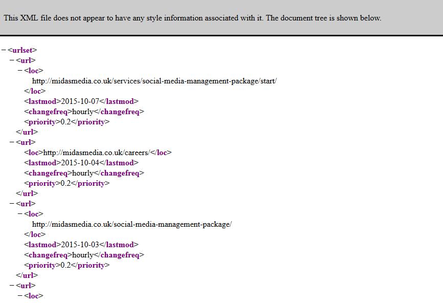 .XML Sitemap