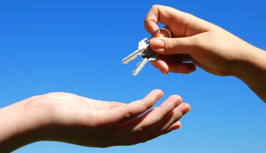 tenant key handover