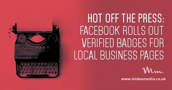 Facebook Verified Badges Begin Roll-out
