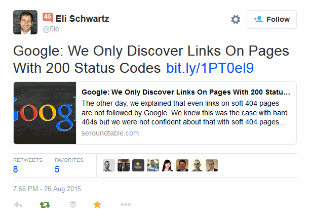 google-we-only-discover-links-on-pages-with-200-status-codes