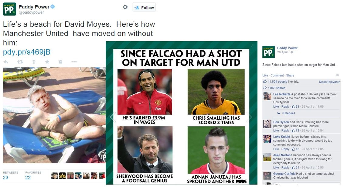 social media paddy power