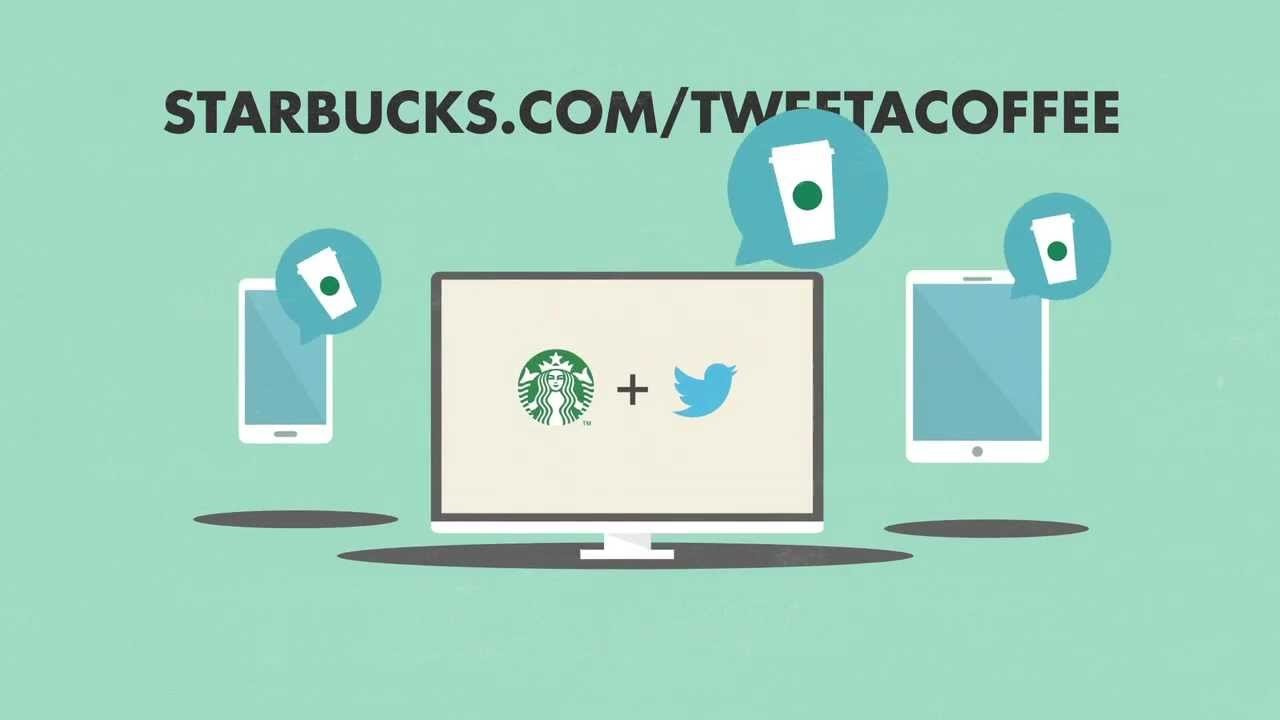 tweet a coffee starbucks