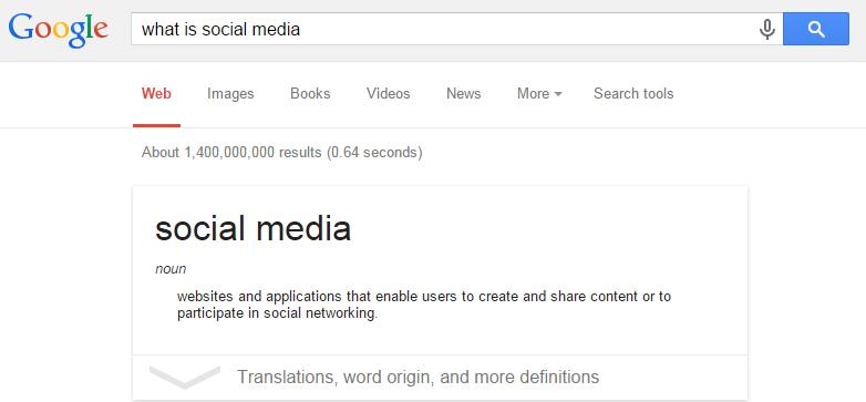 social media what is
