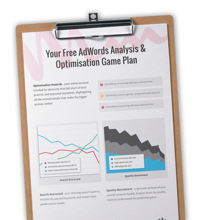 Free AdWords Report