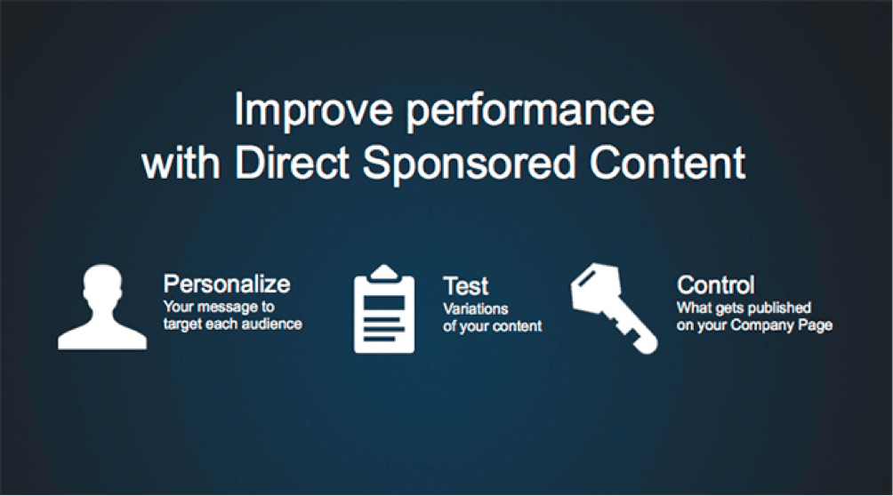 Improve Performance With Direct Sponsorship