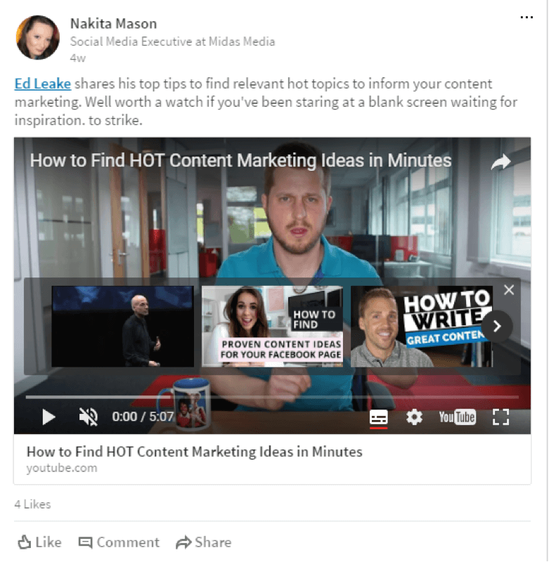 LinkedIn Ad Video